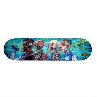 Tabla De Skate Infectado y inyectado - arte de la calle Sk8