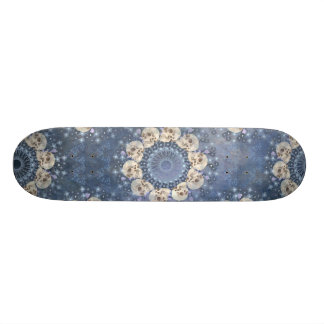 Tabla De Skate Mandala del cráneo