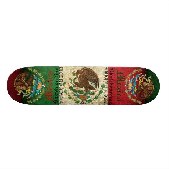 TABLA DE SKATE MEXICO SKATE OR DIE!