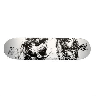 Tabla De Skate Rey esquelético