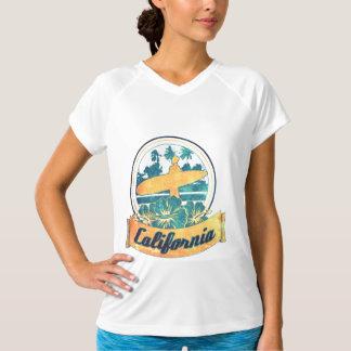Tabla hawaiana de California Camiseta