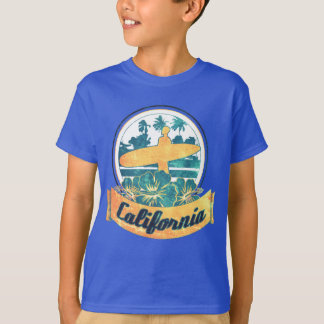 Tabla hawaiana de California Camiseta