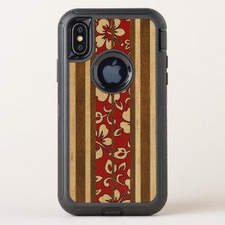 Tabla hawaiana de madera hawaiana del vintage de