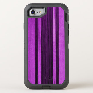 Tabla hawaiana rayada de madera hawaiana de funda OtterBox defender para iPhone 7