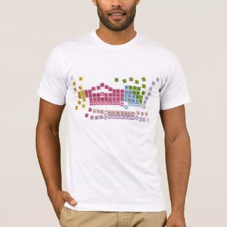tabla periódica camiseta