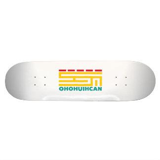 Tabla Skate Logo OHOHUIHCAN Patinetas Personalizadas