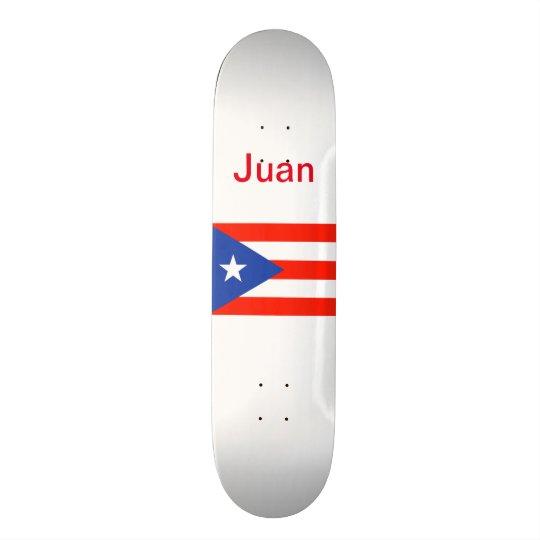 Tablas De Patinar Bandera puertorriqueña 4Juan de Boricua Bandera