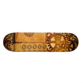 Tablas De Skate Engranajes de Steampunk del Grunge