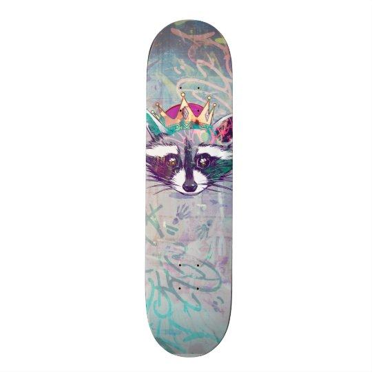 Tablas De Skate Rey Mapache ·#Tabla de skate