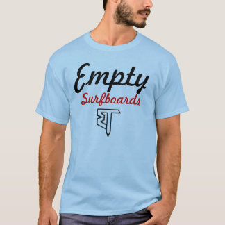 Tablas hawaianas vacías T Camiseta