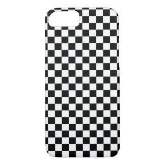 Tablero blanco negro funda iPhone 7