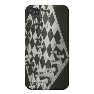 Tablero de ajedrez iPhone 4 protectores