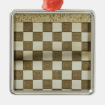 Tablero de ajedrez ornatos