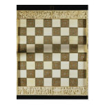 Tablero de ajedrez postal
