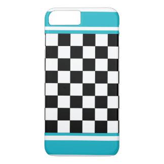 Tablero de damas blanco CricketDiane del verano de Funda iPhone 7 Plus