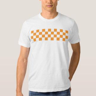 Tablero de damas camisetas