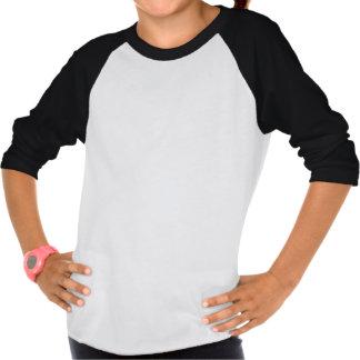 Tablero de damas clásico blanco y negro camisetas