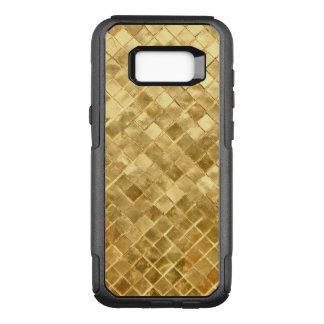 Tablero de damas de oro de Falln Funda Otterbox Commuter Para Samsung Galaxy S8+