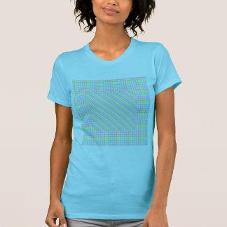 Tablero de damas en colores pastel camisetas