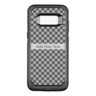 Tablero de damas gris de la combinación de Shirley Funda Commuter De OtterBox Para Samsung Galaxy S8