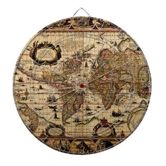 Tablero de dardo del diseñador del mapa de Viejo M Tabla Dardos
