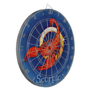 Tablero de dardo del zodiaco