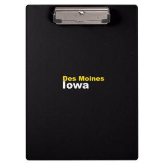 Tablero de Des Moines, Iowa