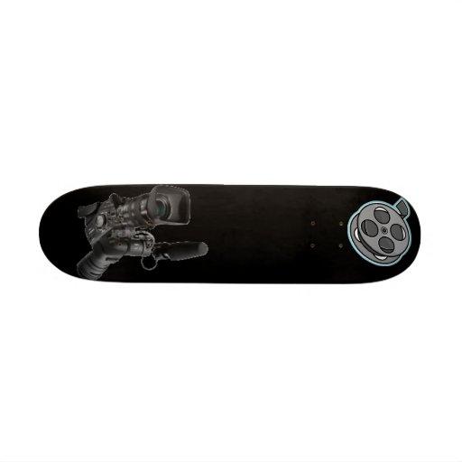 tablero de la cámara de película monopatín personalizado