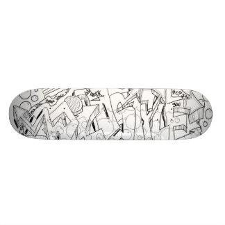 tablero de la hornilla de la corona patinetas personalizadas