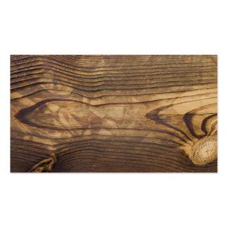 tablero de madera oscuro tarjetas de visita