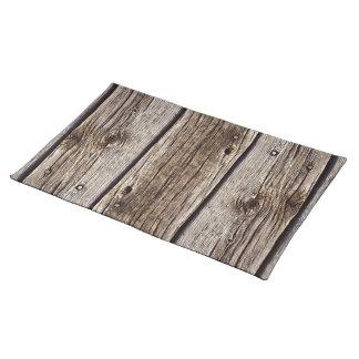 Tablero de madera rústico de la foto, resistido re mantel