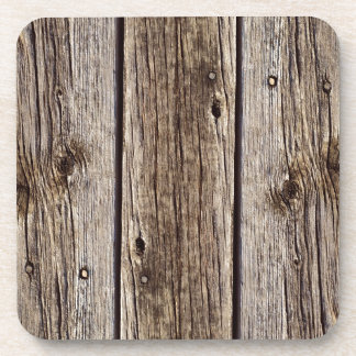 Tablero de madera rústico de la foto resistido re posavasos