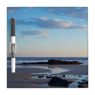 Tablero de mensajes de la playa de Higgins