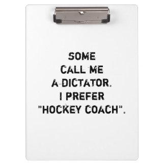 """Tablero del coche de hockey - """"algunos me llaman…"""