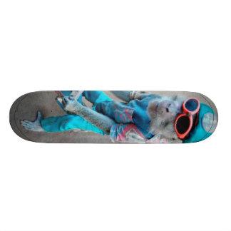 Tablero del mono patineta personalizada