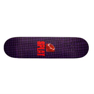 Tablero del rubí de SPLAT Patín Personalizado