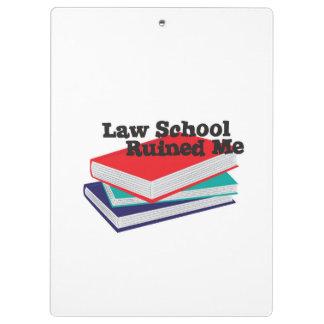 Tablero - el colegio de abogados me arruinó