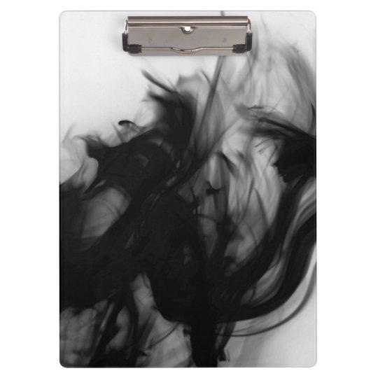 Tablero negro del fuego IV del artista C.L. Brown Carpeta De Pinza