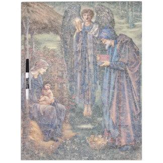 Tablero seco del borrado de Maria de los hombres