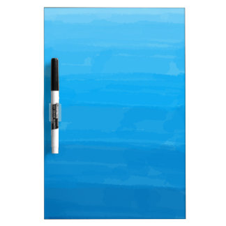 Tablero seco del borrado de Ombre del azul de
