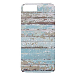 Tableros de madera pintados funda iPhone 7 plus
