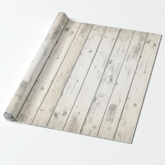 Tableros resistidos moda lamentable de madera papel de regalo