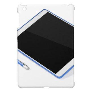 Tableta en soporte y pluma digital