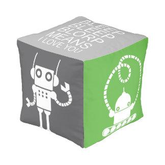 Taburete de los robots - decoración del cuarto de