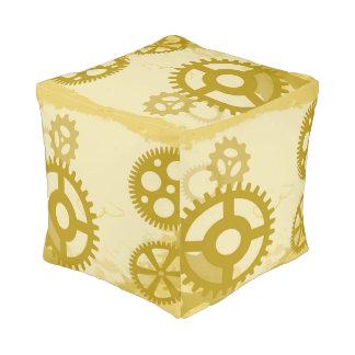 Taburete del cubo de Steampunk