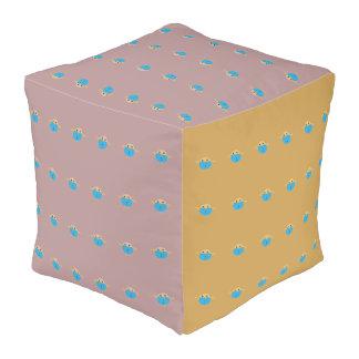 Taburete hermoso y elegante del cubo de los niños pouf