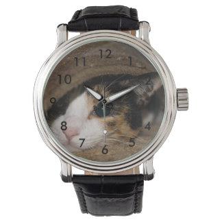 Taco del calicó reloj de pulsera