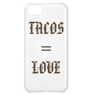 TACOS = AMOR (CAJA 5C del TELÉFONO) Carcasa iPhone 5C