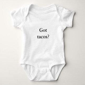 ¿Tacos conseguido? El bebé los quiere realmente Body Para Bebé