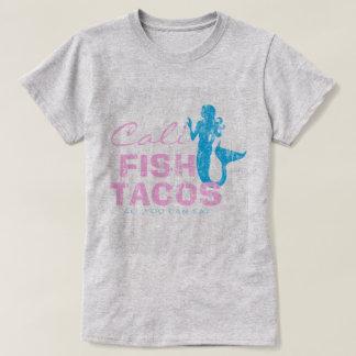 Tacos de pescados de Cali del vintage Camiseta